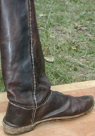 Халява - голенище сапога