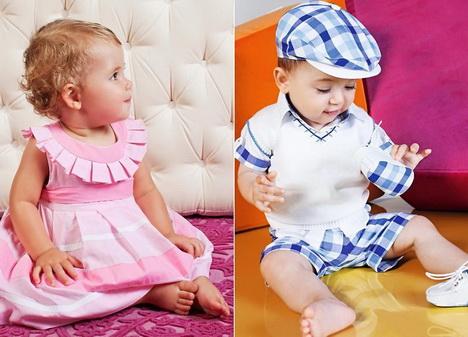 Розовый - для девочек. Голубой - для мальчиков.