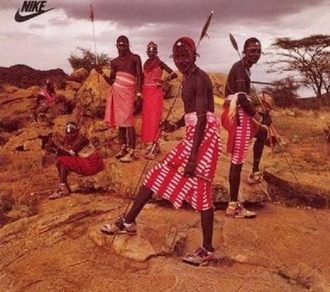 Реклама Nike 1989 года