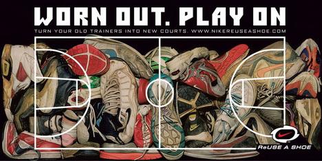 Программа Reuse-A-Shoe от Nike