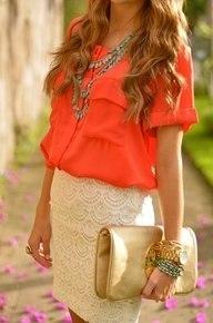Психология оранжевого цвета в одежде