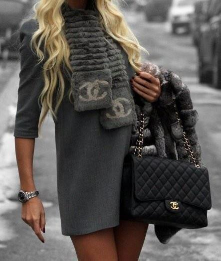 Психология серого цвета в одежде